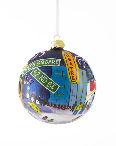"""Times Square"" Christmas Ornament"