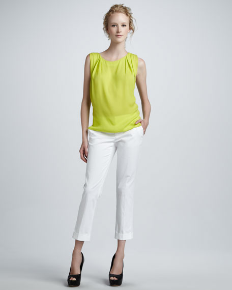 Stacey Slim Cropped Pants