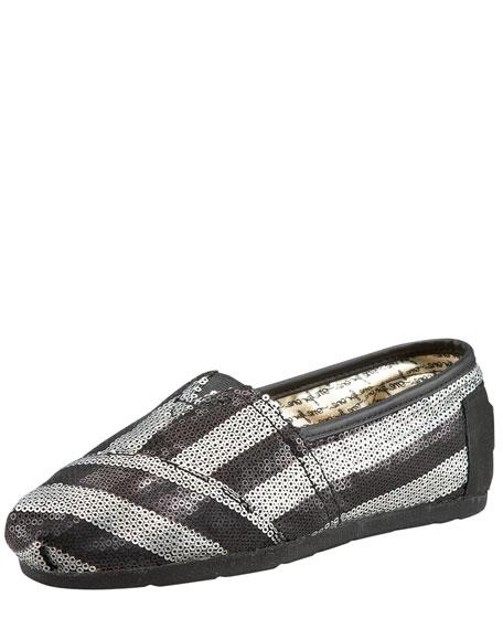 Gurley Stripe Sequin Slip On
