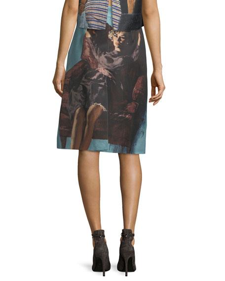 Poster Girl Mikado Skirt
