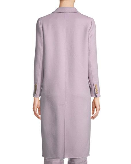 Bettina Wool-Cashmere Long Coat