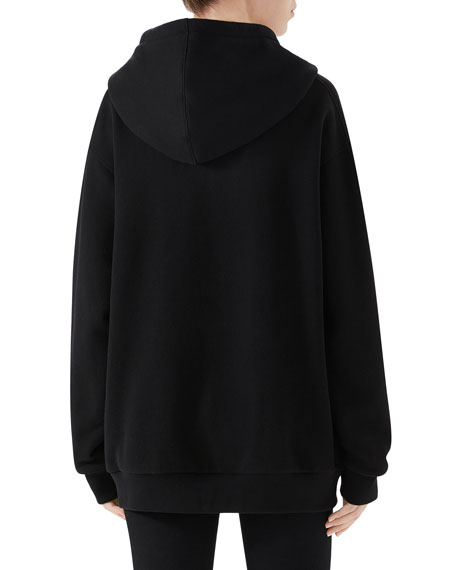 Homme Pour Femme Heavy Felted Patchwork Sweatshirt