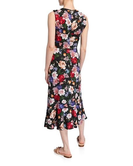 Grazia Floral Sleeveless Dress
