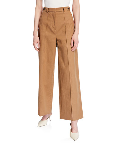 High-Waist Long Trouser
