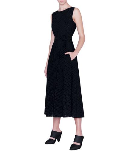 Dotted Organza Dress