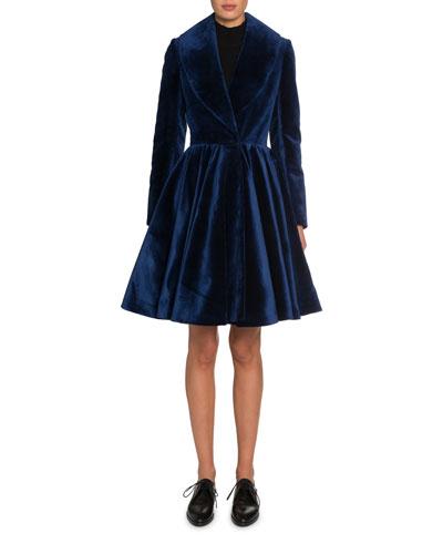 Velvet Princess Coat