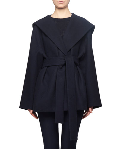 Rayna Hooded Wrap Coat