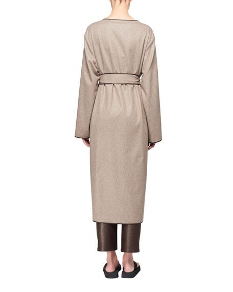 Helga Cashmere Belted Wrap Coat