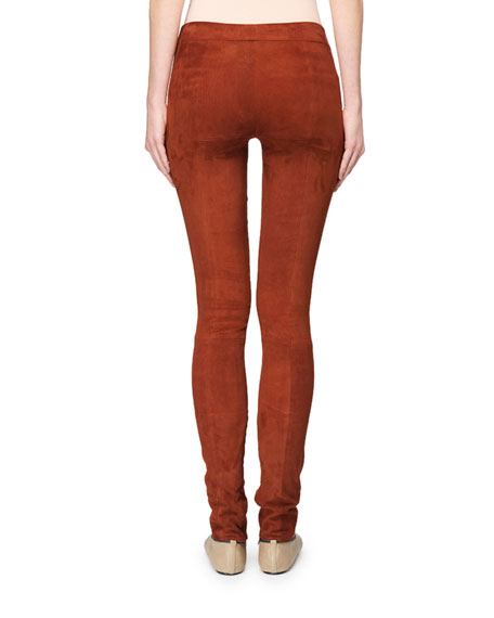Tomo Suede Leggings