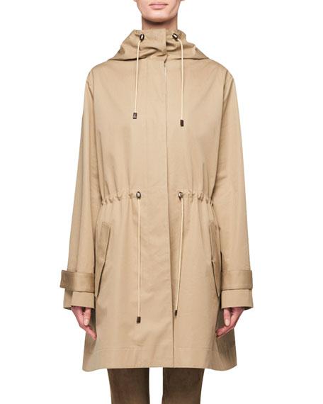 Haze Hooded Anorak Raincoat