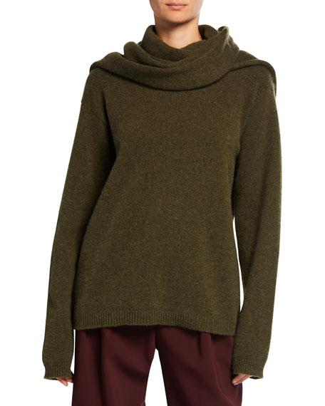 Cashmere Scarf Sweater