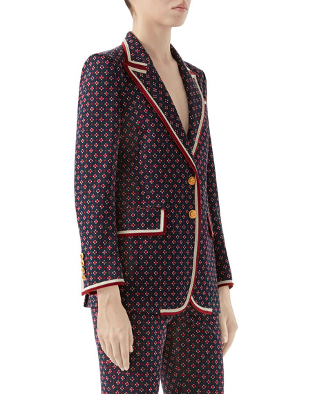 Geometric GG Jacquard Jacket