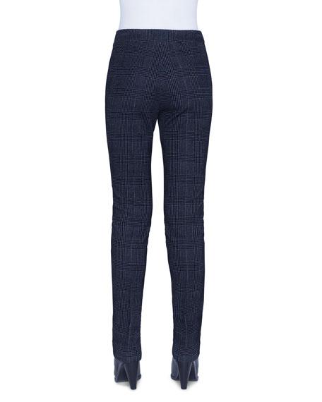 Mara Glen Check Velvet Pants