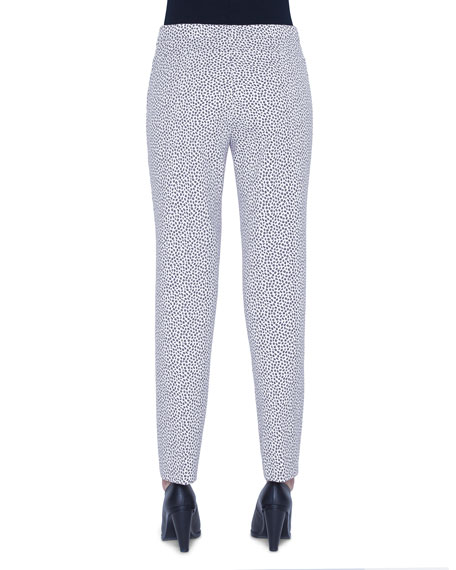 Franca Leopard Print Pants