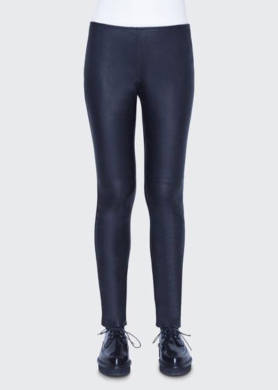 Fancy Napa Leather Pants