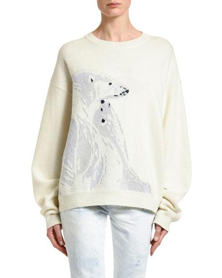 Polar Bear Intarsia Sweater
