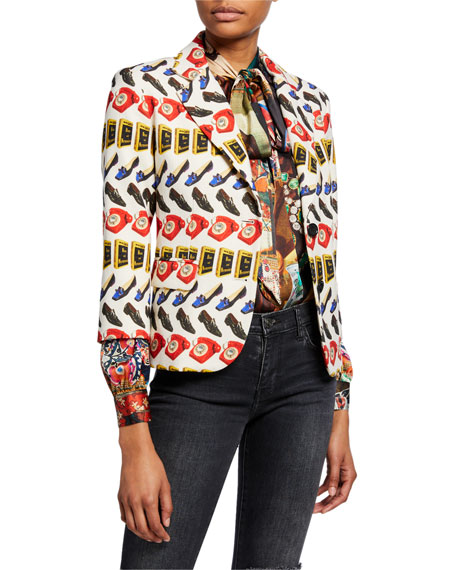 Being and Nothingness Wool Blazer Jacket
