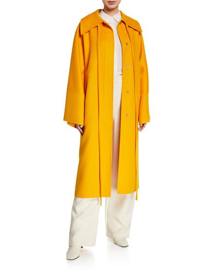 Oversized Wool Cashmere Coat