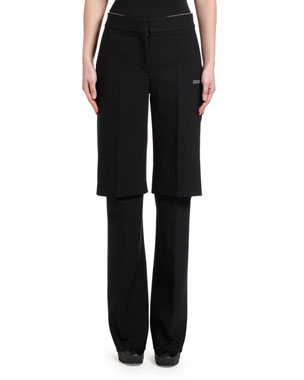 Off-White Double-Layer Pants