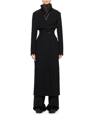 Nadine Scuba Long Coat
