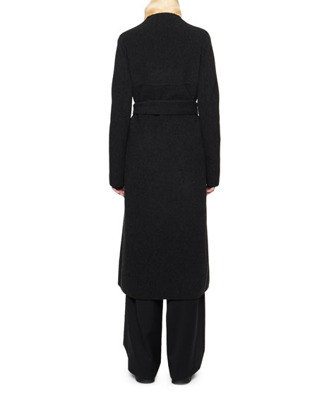 Luisa Wool Wrap Coat