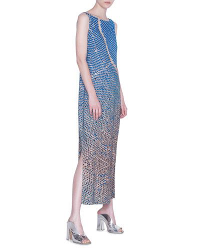 Viscose Blend Maxi Dress