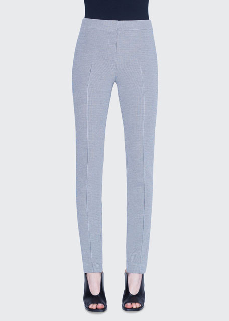 Mara Houndstooth Jersey Pants
