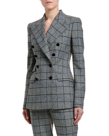 Prince of Wales Double-Breasted Jacket