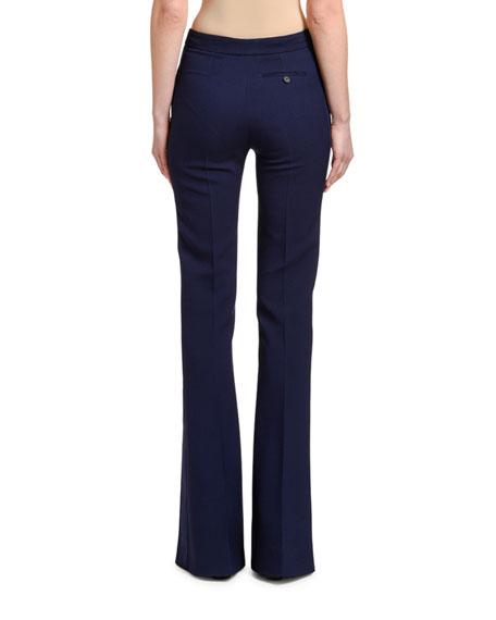Tuxedo Flare-Leg Jeans