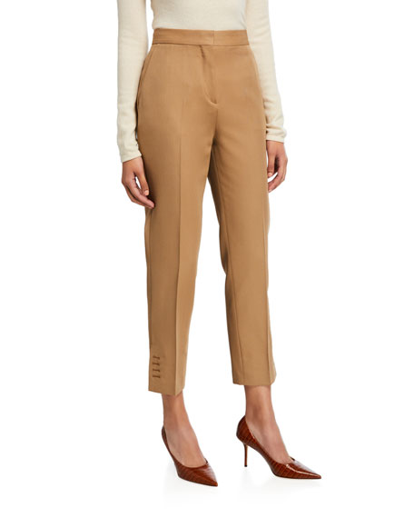 Button-Seam Cuff Trousers