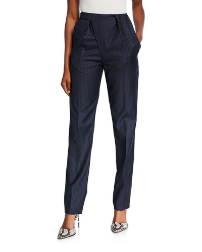 Asymmetric Tailored Trousers