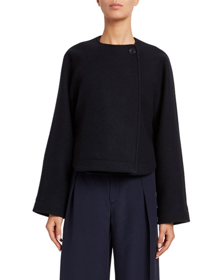 Iconic Soft Wool Short Coat