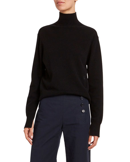 Image 1 of 1: Cashmere Turtleneck Sweater