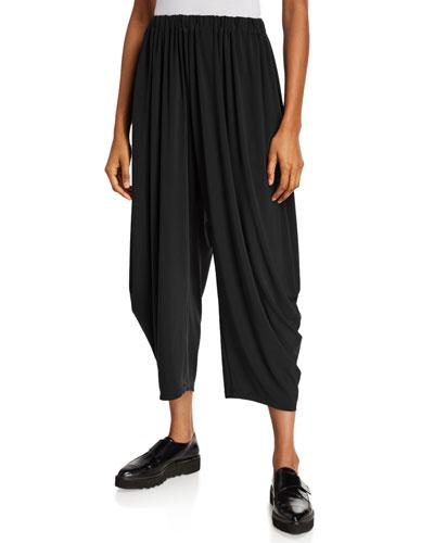 Draped Jersey Pants