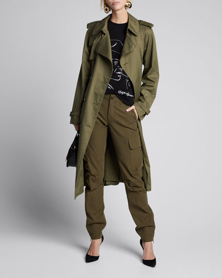 Sinclair Military Twill Trench Coat
