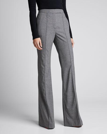 Francisco Wool Melange Pants