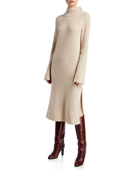 Moa Wool-Cashmere Sweater Dress
