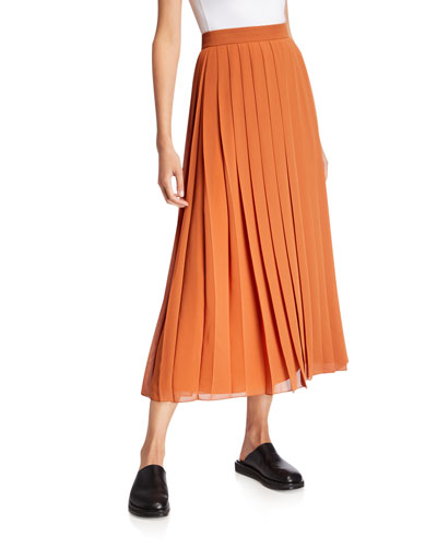 Magda Pleated Skirt