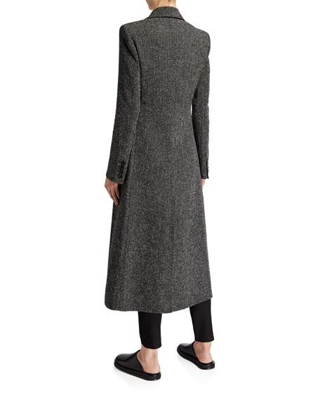 Sua Wool Button-Front Coat
