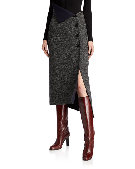 Image 1 of 1: Verna Wool Skirt