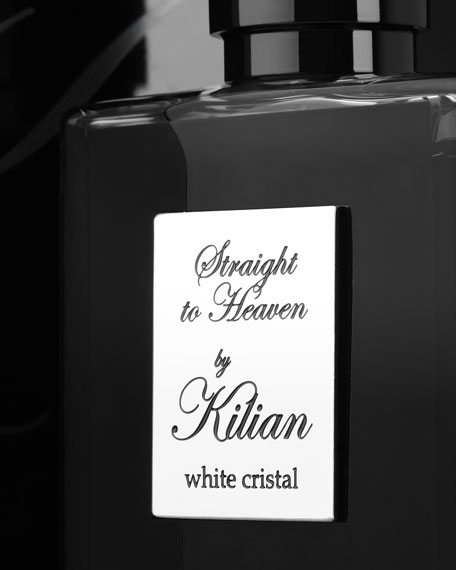 Straight to Heaven, white cristal 50 mL refillable Spray and its Coffret
