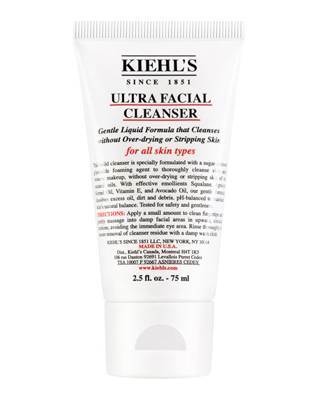 Kiehl's Since 1851 Travel-Size Ultra Facial Cleanser, 2.5