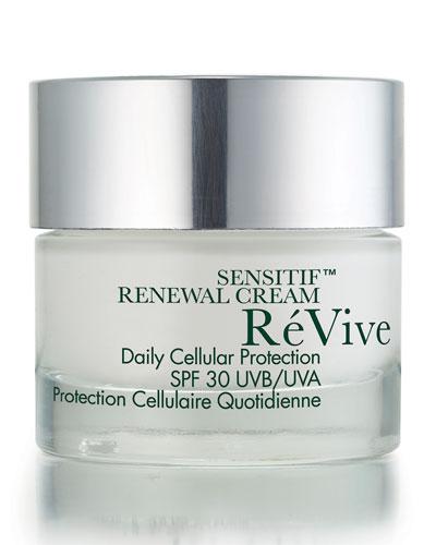 Sensitif Renewal Cream Daily Cellular Protection Broad Spectrum SPF 30 Sunscreen