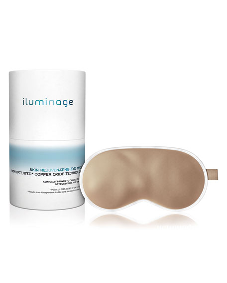 iluminage Skin Rejuvenating Eye Mask with Patented Copper Technology