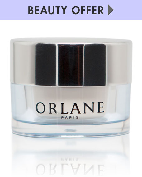 Yours with any $100 or more Orlane purchase—Online only*