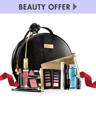 Yours for $59.50 with any Lancôme purchase ($308 Value)