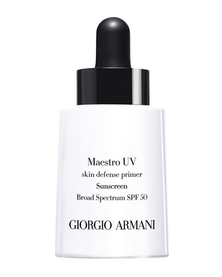 Maestro UV Skin Defense Primer Sunscreen SPF 50, 1 oz.