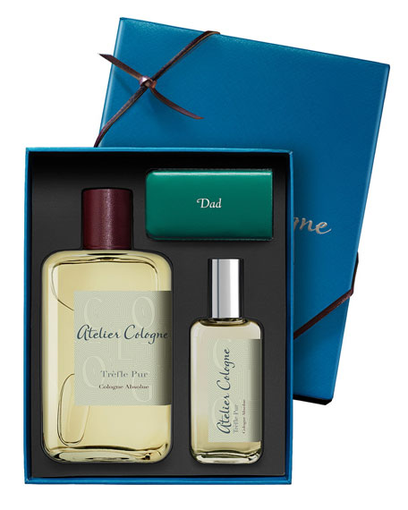 Trèfle Pur Cologne Absolue, 200 mL with Personalized Travel Spray, 30 mL