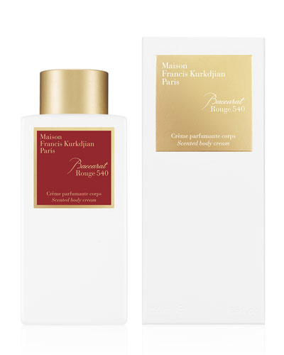 Baccarat Rouge 540 Scented Body Cream  8.5 oz./ 250 mL