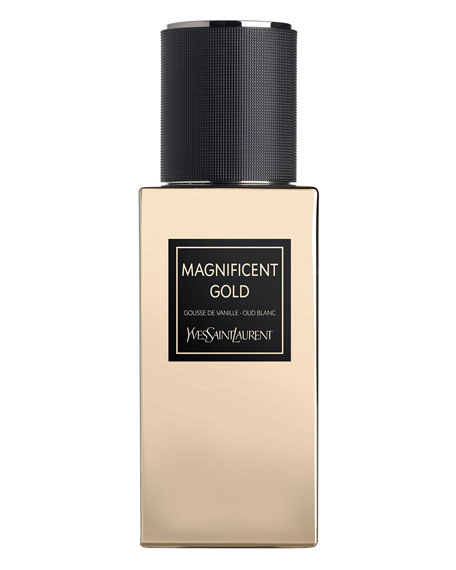 Exclusive LE VESTIAIRE DES PARFUMS Collection Orientale Magnificent Gold Eau de Parfum, 2.5 oz./ 75 mL